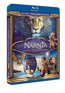 'Las Crónicas de Narnia: La travesía del Viajero del Alba' emprende viaje hoy en Blu-ray y DVD