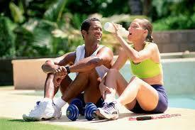 ¿Comer antes o después de hacer deporte?