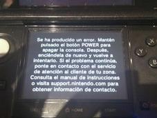 Nintendo 3DS, semana mercado pantallazos negros