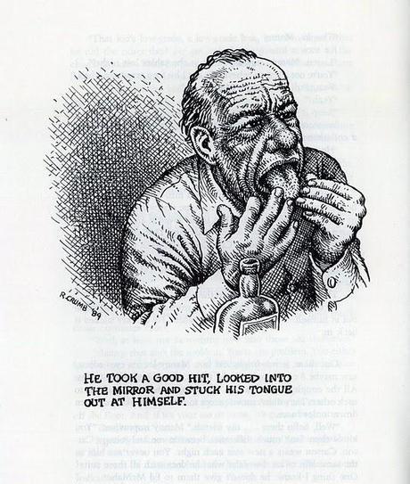 Crumb ilustra a Bukowski