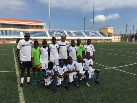 Campeonato Provincial Infantil. Goleada de la Escuela de Fútbol Base AFA Angola