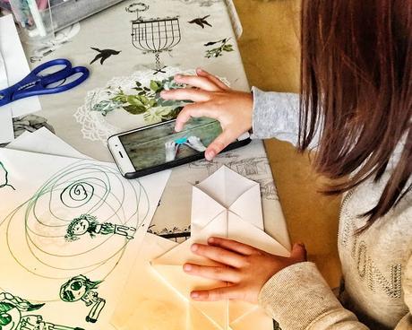 #MiércolesMudo 173: Aprendiendo origamis