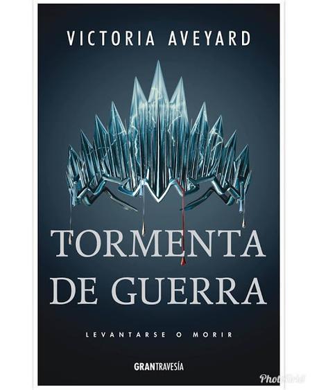 Desvelada la portada de 'Tormenta de Guerra', conclusión de la saga de Victoria Aveyard, 'La Reina Roja'
