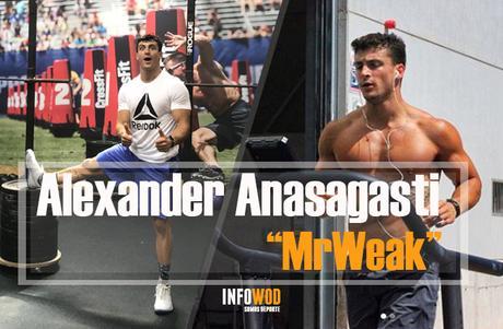 Alexander Anasagasti atleta crossfit regionals 2018