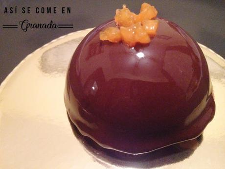 Semiesferas de chocolate y albaricoques, Juego de blogueros 2.0