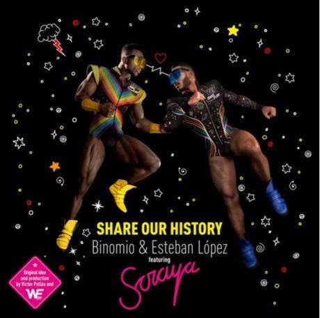 Soraya vuelve al dance en el tema 'Share Our History' de Binomio & Esteban López