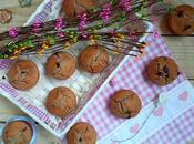 Muffins integrales sirope arce nueces chocolate. Mapple muffins.