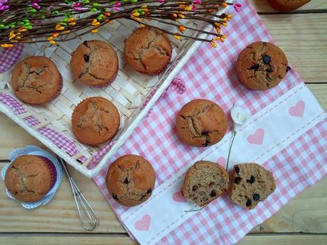 mapple muffins sirope de arce desayuno merienda postre magdalenas recetas de aprovechamiento horno cuca