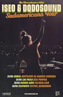 Iseo & Dodosound, Sudamerican Tour