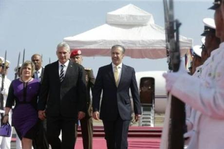 Presidente Díaz-Canel expresa apoyo a Venezuela