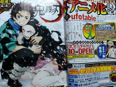 Primera imagen del anime Kimetsu no Yaiba por el estudio Ufotable