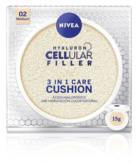 Nivea Hyaluron Filler 3 en 1 Cushion