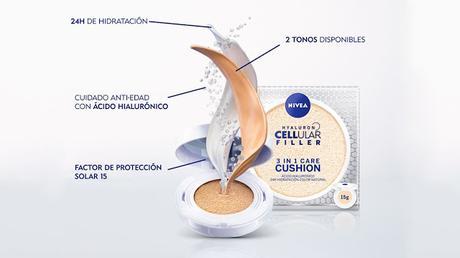 Nivea Hyaluron Celular Filler 3 en 1 Cushion