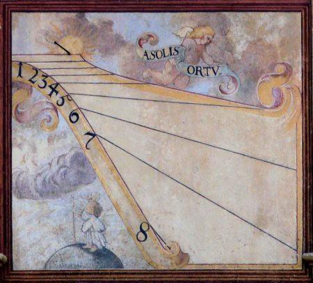 Los relojes solares del Clementinum en Praga
