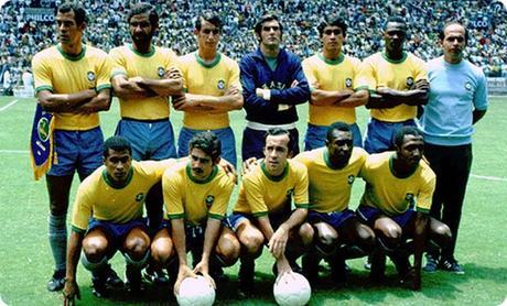A 14 días del inicio del Mundial Rusia 2018: Recuerdos mundialistas, México 1970 la tercera de Brasil y Pelé.