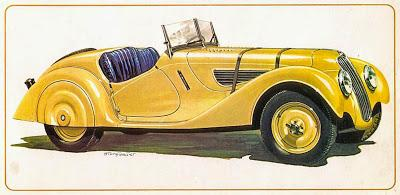BMW 328, un auto legendario