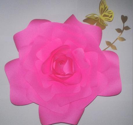 🌻🌸🌹🌺🌼 DIY - ROSAS DE PAPEL EN TONOS ROSA   🌻🌸🌹🌺🌼