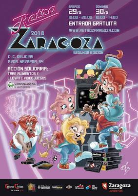 Fechas y presentación del cartel de RetroZaragoza 2018