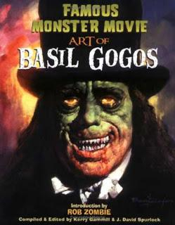 Portada del libro Famous Monster Movie Art of Basil Gogos