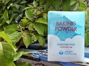 Baking powder Crunch Pore Scrub, exfoliante facial para limpiar poros Etude House