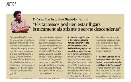 L'ATLANTIDA ANDALUSA? / Antoni Janer Torrens / Revista Sapiens