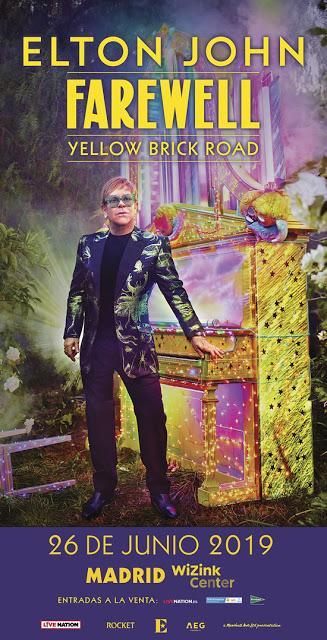 Elton John se despedirá de Madrid el 26 de junio de 2019 (y se apunta al 'fan verificado')