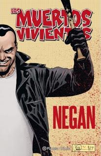 Crítica literaria: Los muertos vivientes. Negan (cómic)