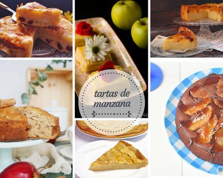 15 recetas de tartas de manzana fáciles