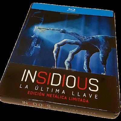 Insidious La última llave edición Bluray
