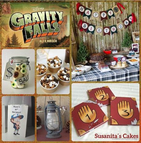 Fiesta temática Gravity Falls, Un verano de misterios.