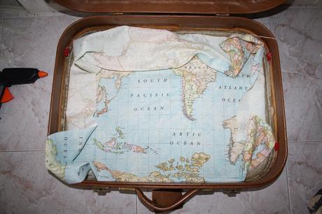 Diy: como recuperar una maleta antigua