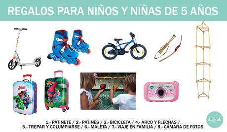 Regalos para niños de 5 años: ¡más de 20 ideas!