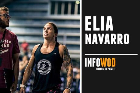 elia navarro atleta crossfit española