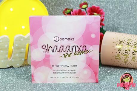 Paleta de sombras The Remix Shaanxo de BH Cosmetics