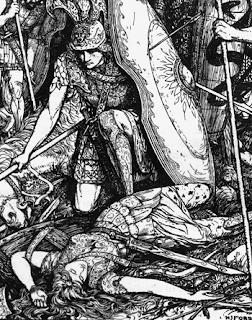 La muerte de Aquiles, La guerra de Troya, Andrew Lang