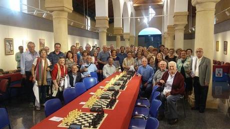 Celebrado el VI Torneo de Ajedrez para Mayores