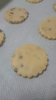 Cookies de mantequilla con chispas de chocolate