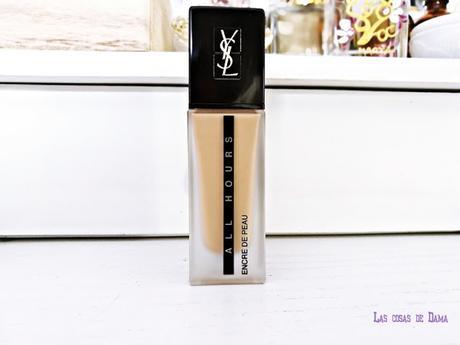 Encre de Peau All Hours Foundation YSL beauty makeup maquillaje 24h belleza Yves saint Laurent