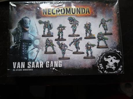 Foto-Unboxing de la banda de los Van Saar