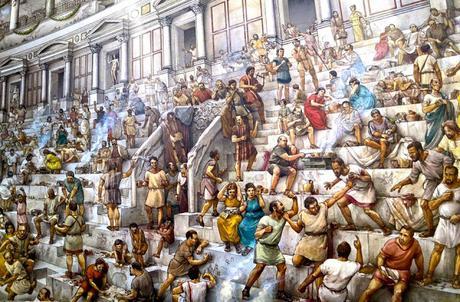 Las apuestas en la antigua  Roma