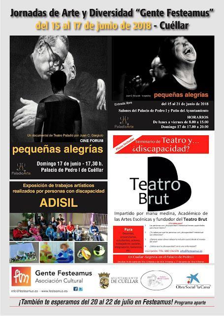 Jornadas Arte Diversidad 2Gente Festeamos