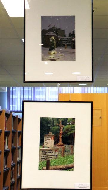 Tras las huellas de Santiago, exposición en la Biblioteca Pública de León.