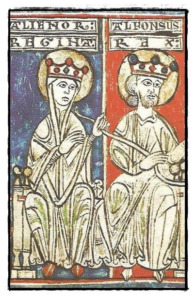 Alfonso VIII y Leonor de Plantagenet