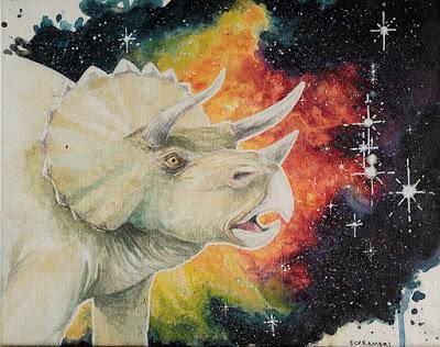 Los dinosaurios espaciales de Sarah Terrell