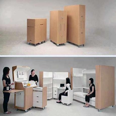 12 muebles ideales para espacios pequeños