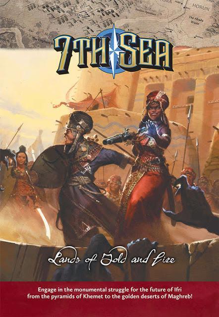 Lands of Gold of Fire para 7th Sea a la venta