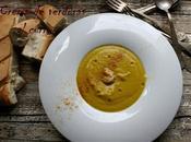 Crema verduras curry