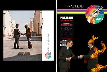 el villano arrinconado, humor, chistes, reir, satira, Pink Floyd, Rajoy, Sanchez