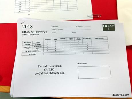Catando quesos para Gran Selección 2018