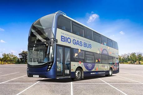 Resultat d'imatges de biogas buses
